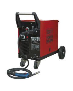 Sealey Mightymig Professional Gas/No-Gas MIG Welder 210Amp with Euro Torch