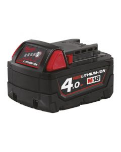 Milwaukee M18B4 18v 4.0Ah Red Lithium-Ion Battery