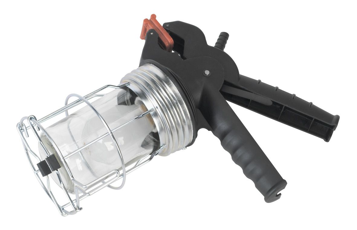 Sealey Lead Lamp with Gripper 60W/230V E27 Cap