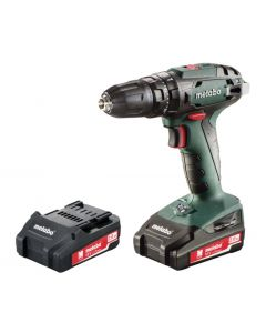 Metabo SB18 18v Combi Drill 2x 2Ah Batteries