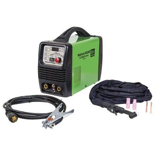 SIP Weldmate HG2200P DC TIG / ARC  200 Amp Inverter Welder with Pulse 230v