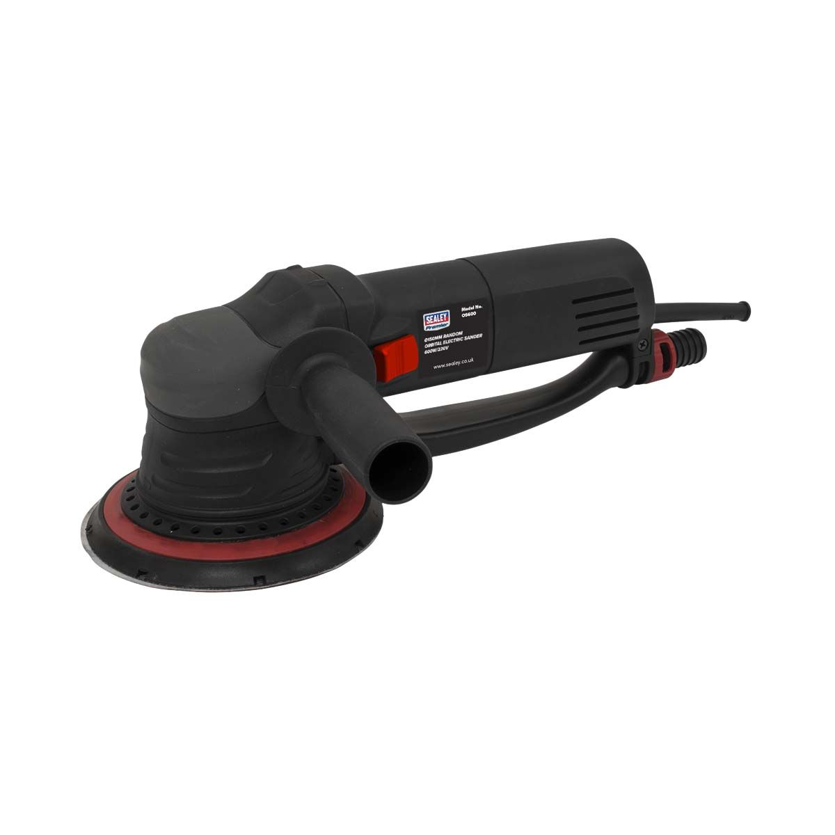 Sealey Random Orbital Electric Sander Ø150mm 600W/230V