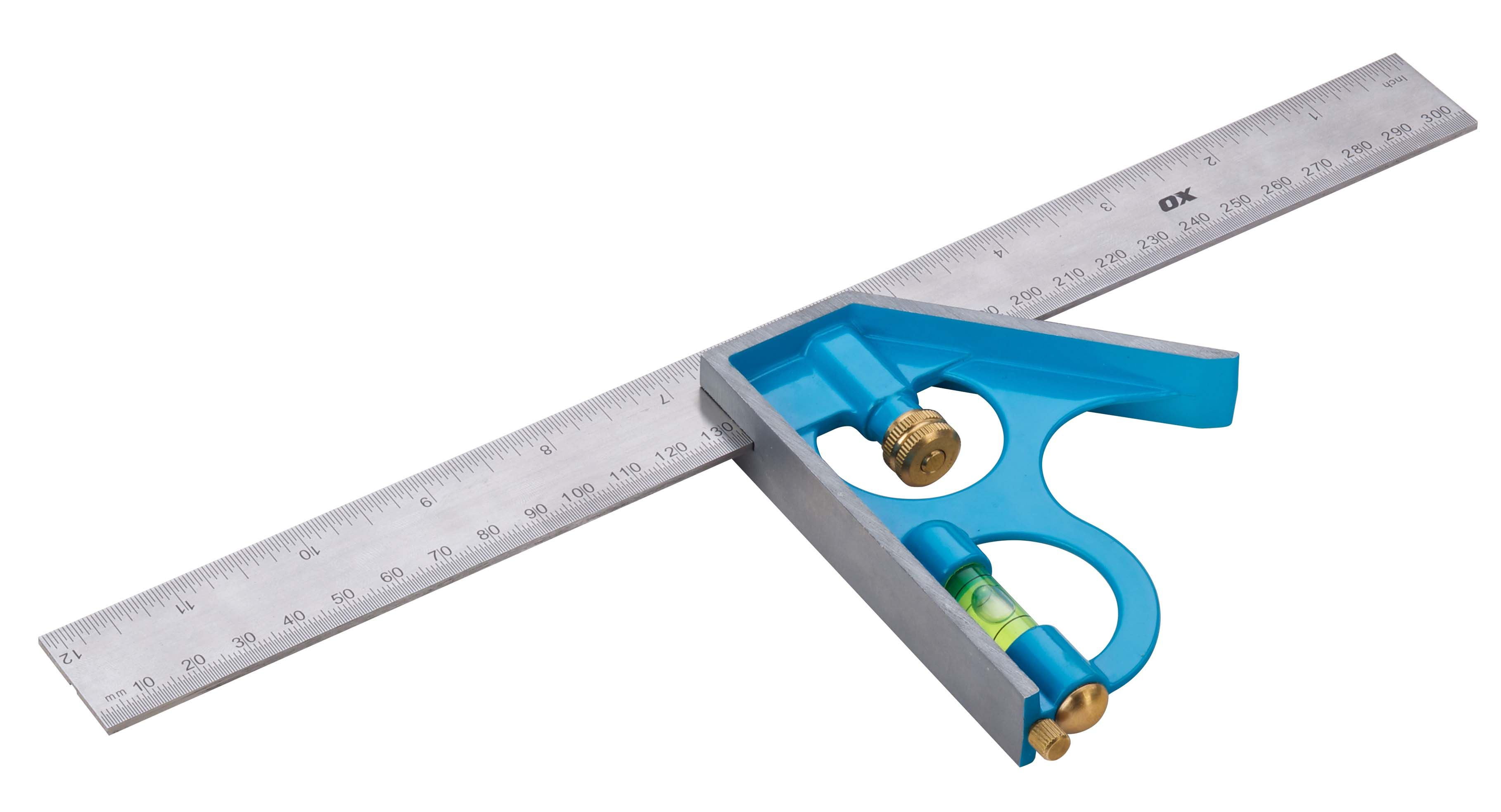 OX Pro Combination Square - 300mm / 12""