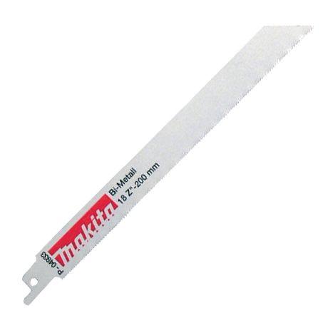 Makita P-04933 Bi-Metal Reciprocating Blades 200mm For Metal