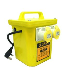 Electro-Wind 3.3 KVA 110V Power Tool Transformer 2x 16A Outlet
