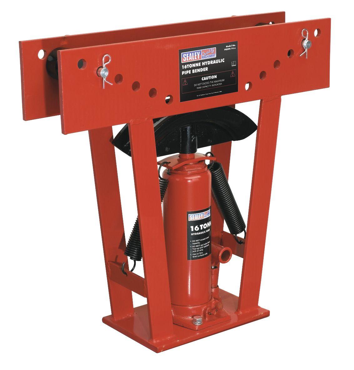 Sealey Hydraulic Pipe Bender 16tonne
