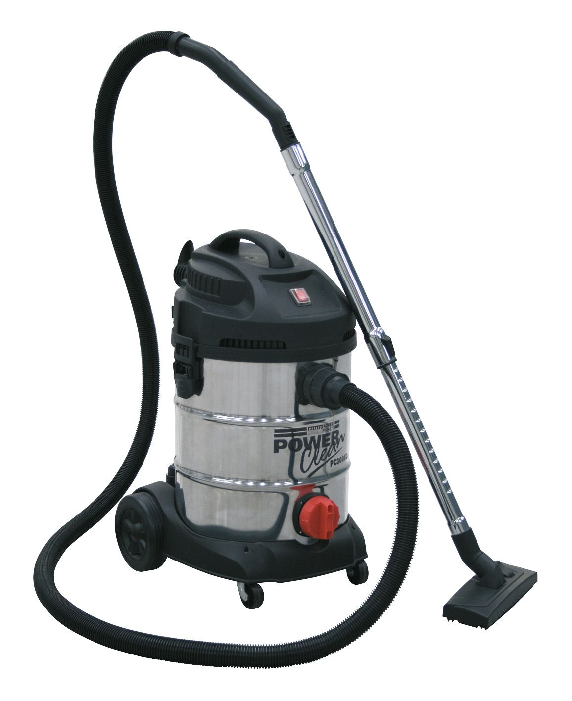 Sealey Vacuum Cleaner Industrial 30L 1400W/230V Stainless Drum
