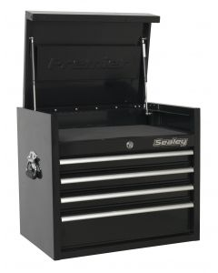 Sealey Premier Topchest 4 Drawer 660mm Heavy-Duty Black