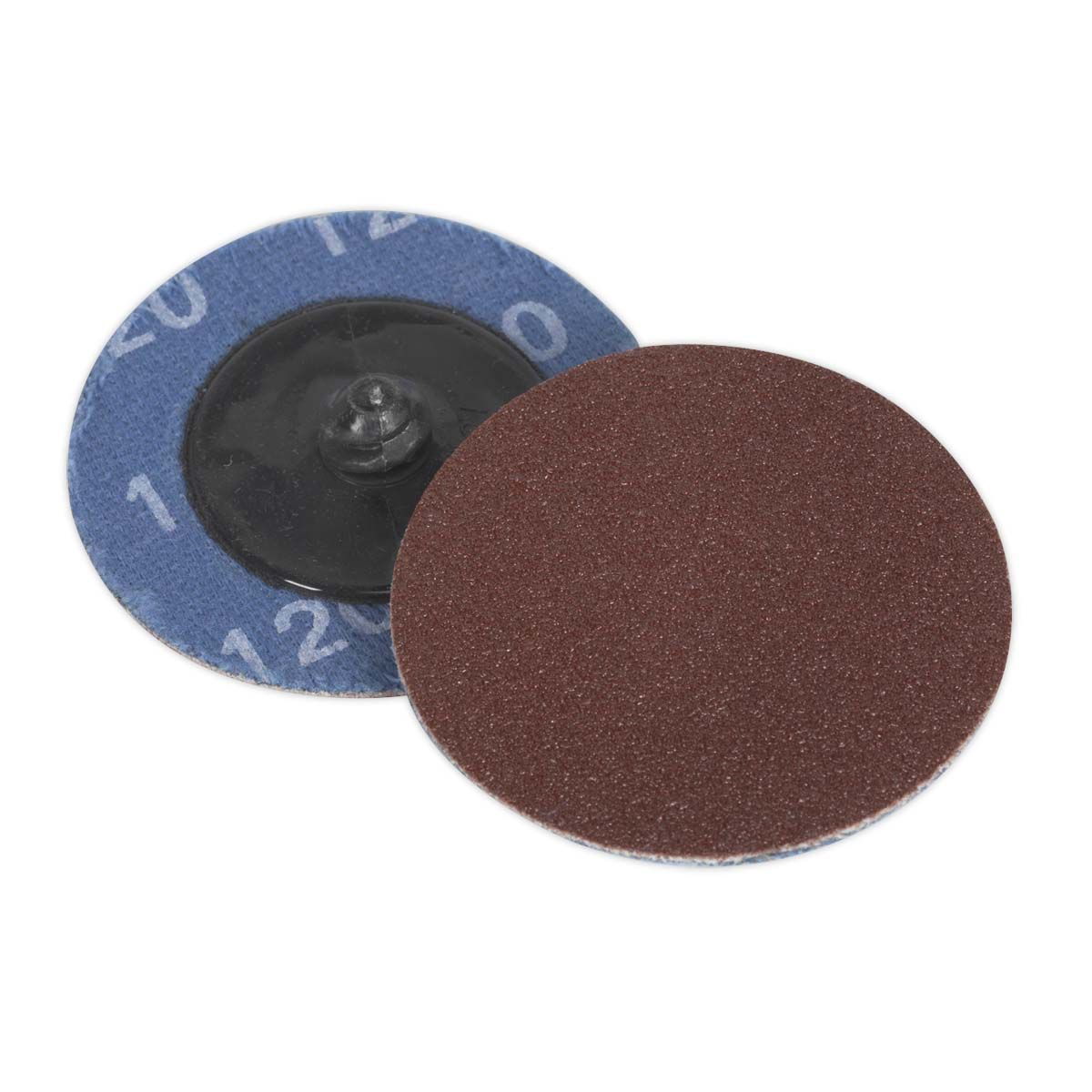 Sealey Quick-Change Sanding Disc Ø50mm 120Grit Pack of 10