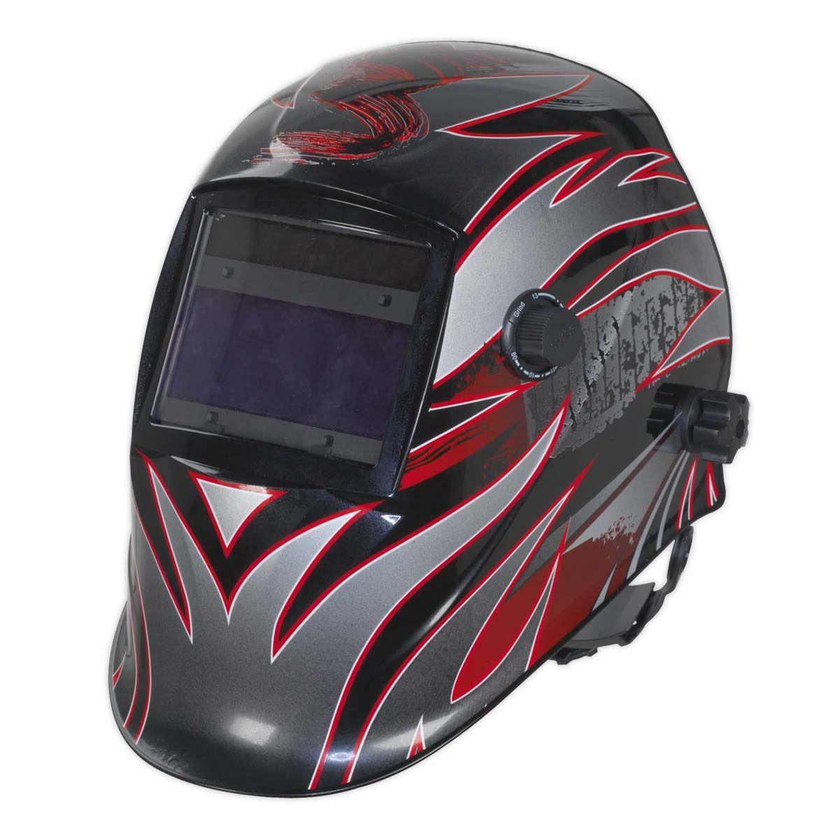 Sealey Welding Helmet Auto Darkening Shade 9-13