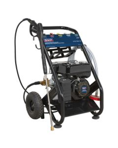 Sealey Pressure Washer 220bar 600L/hr Self-Priming 6.5hp Petrol