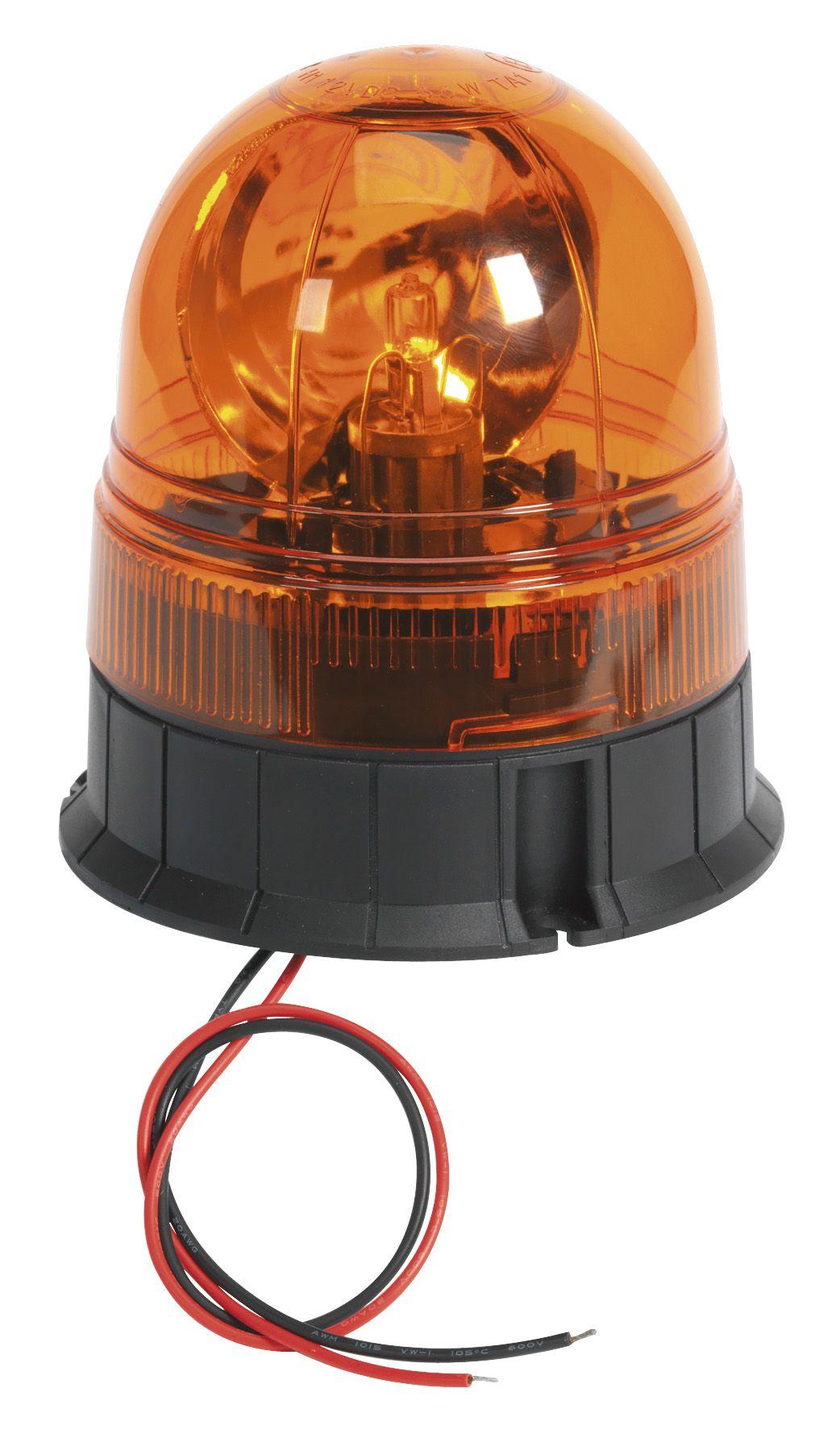 Sealey Rotating Beacon 12/24V 3 x Bolt Fixing