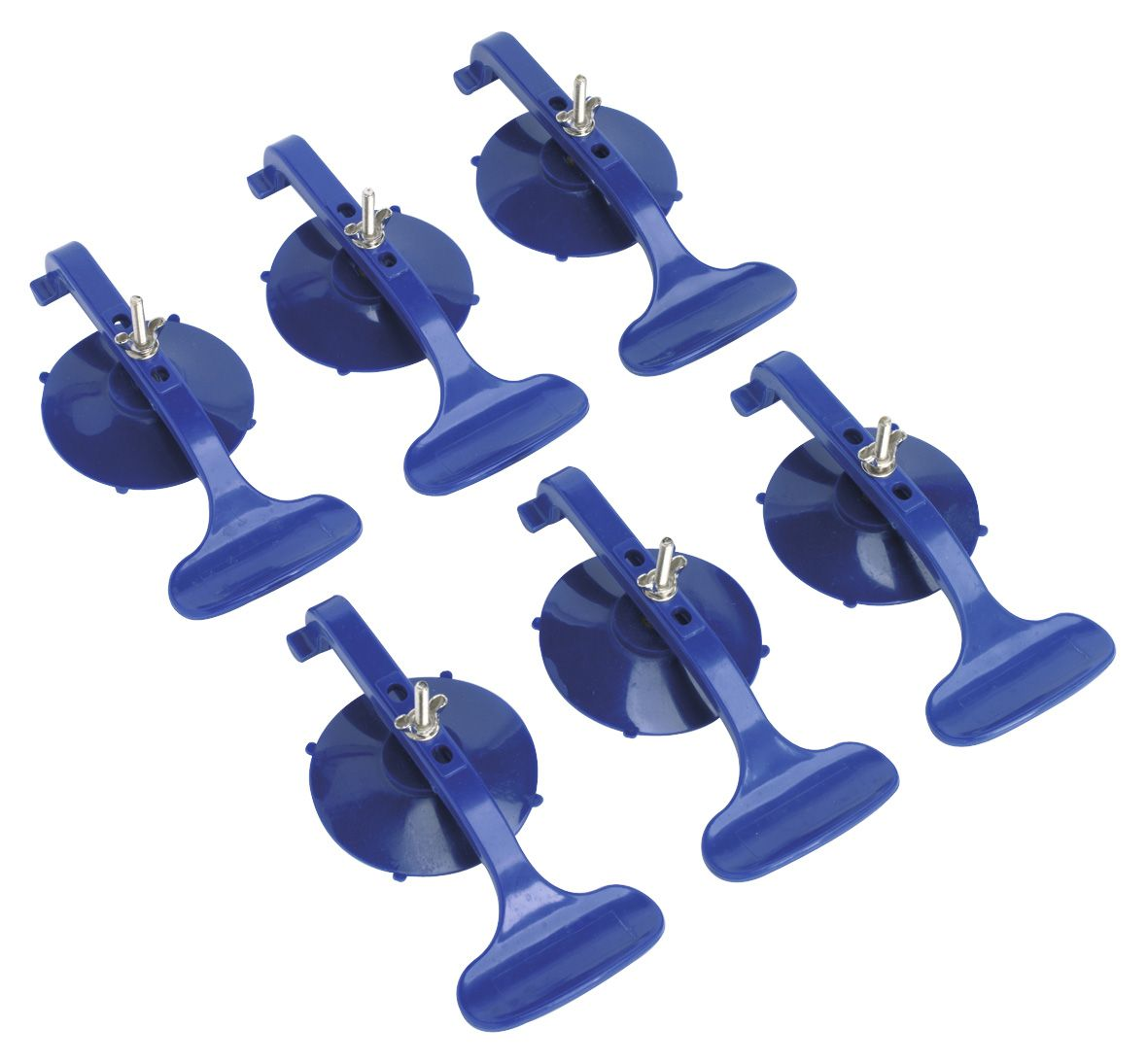 Sealey Suction Clamp Set 6pc
