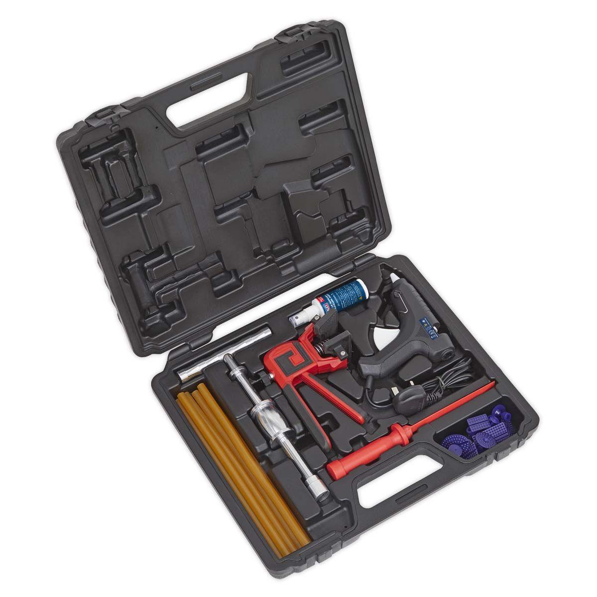 Sealey Hot Glue Paintless Dent Repair Kit 230V