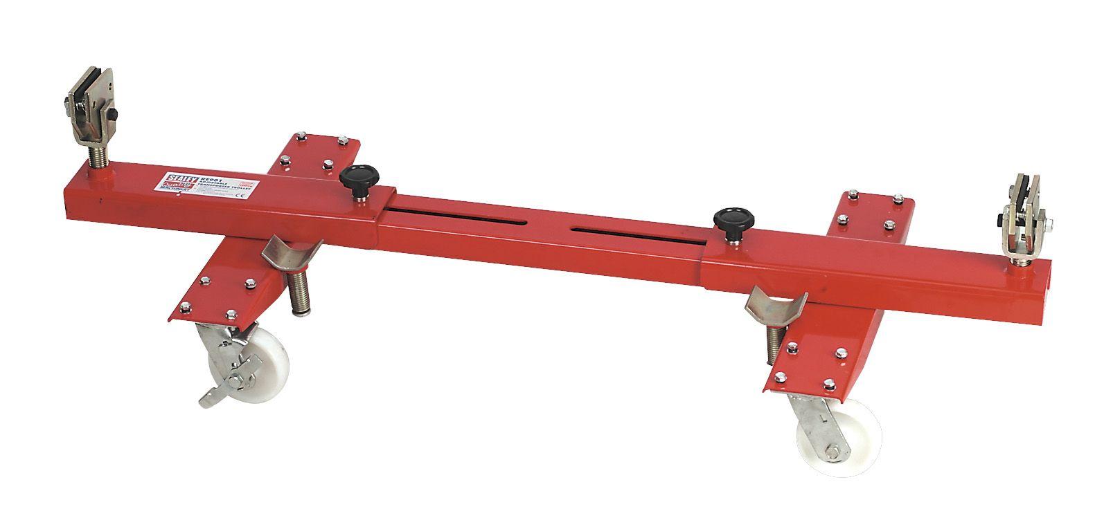 Sealey Adjustable Transportacar Trolley 2tonne Capacity