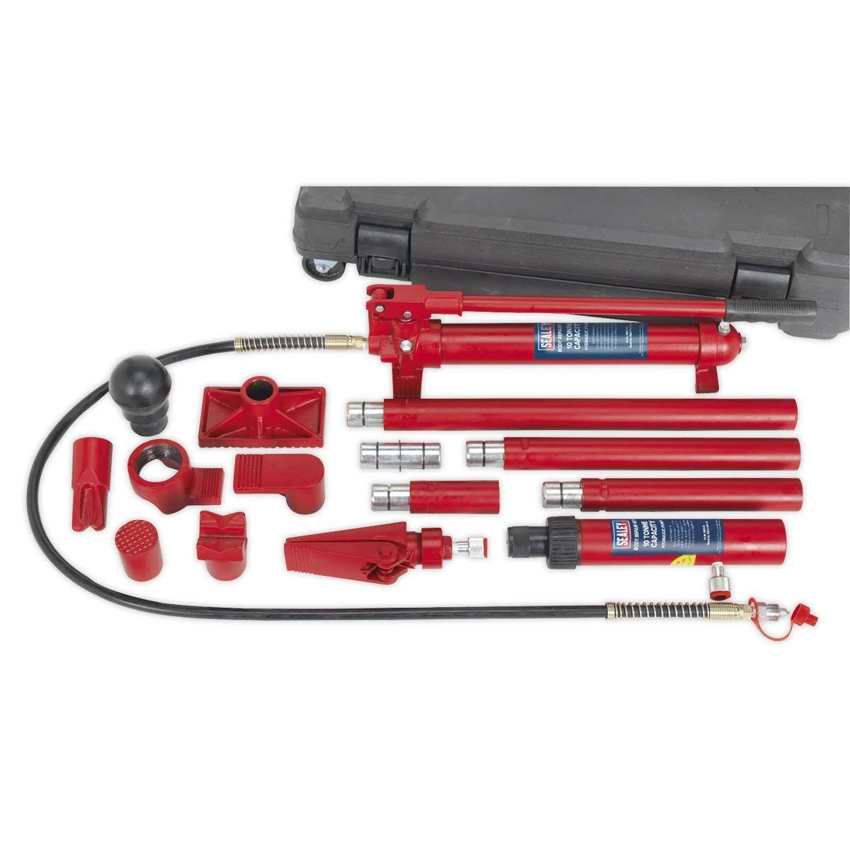 Sealey Hydraulic Body Repair Kit 10tonne Snap Type