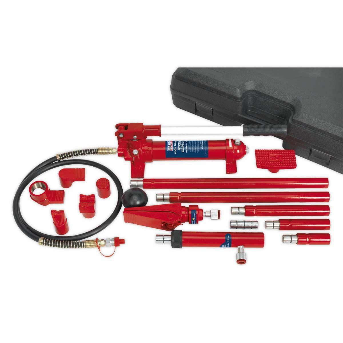 Sealey Hydraulic Body Repair Kit 4tonne Snap Type