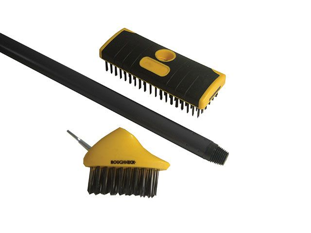 Roughneck Patio & Decking Brush Set 2 Piece