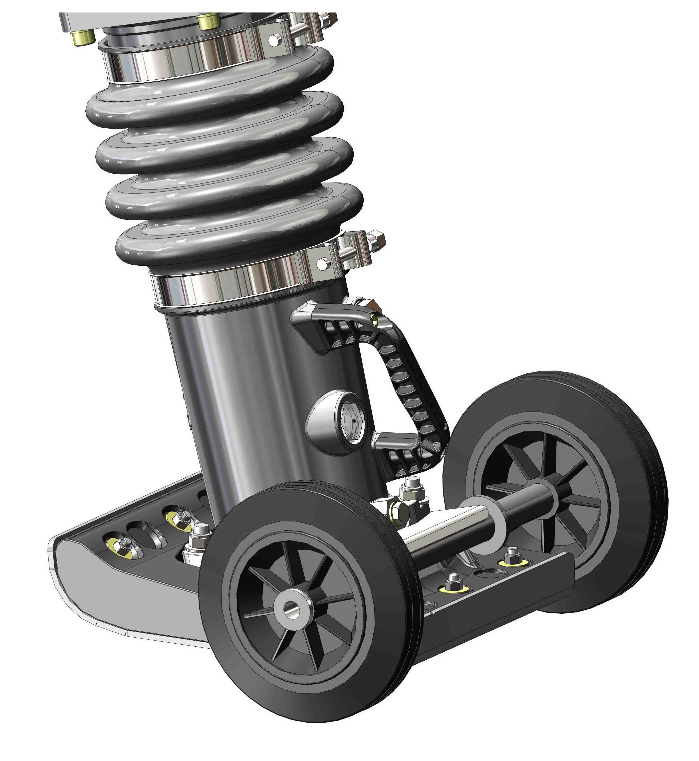 Belle Trench Rammer Wheel Kit