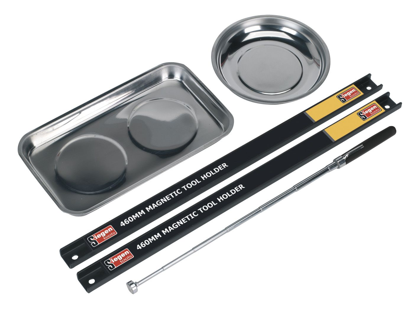 Siegen Magnetic Bowl & Tool Holder Set 5pc