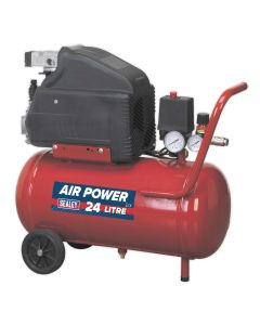 Sealey Compressor 24L Direct Drive 1.5hp