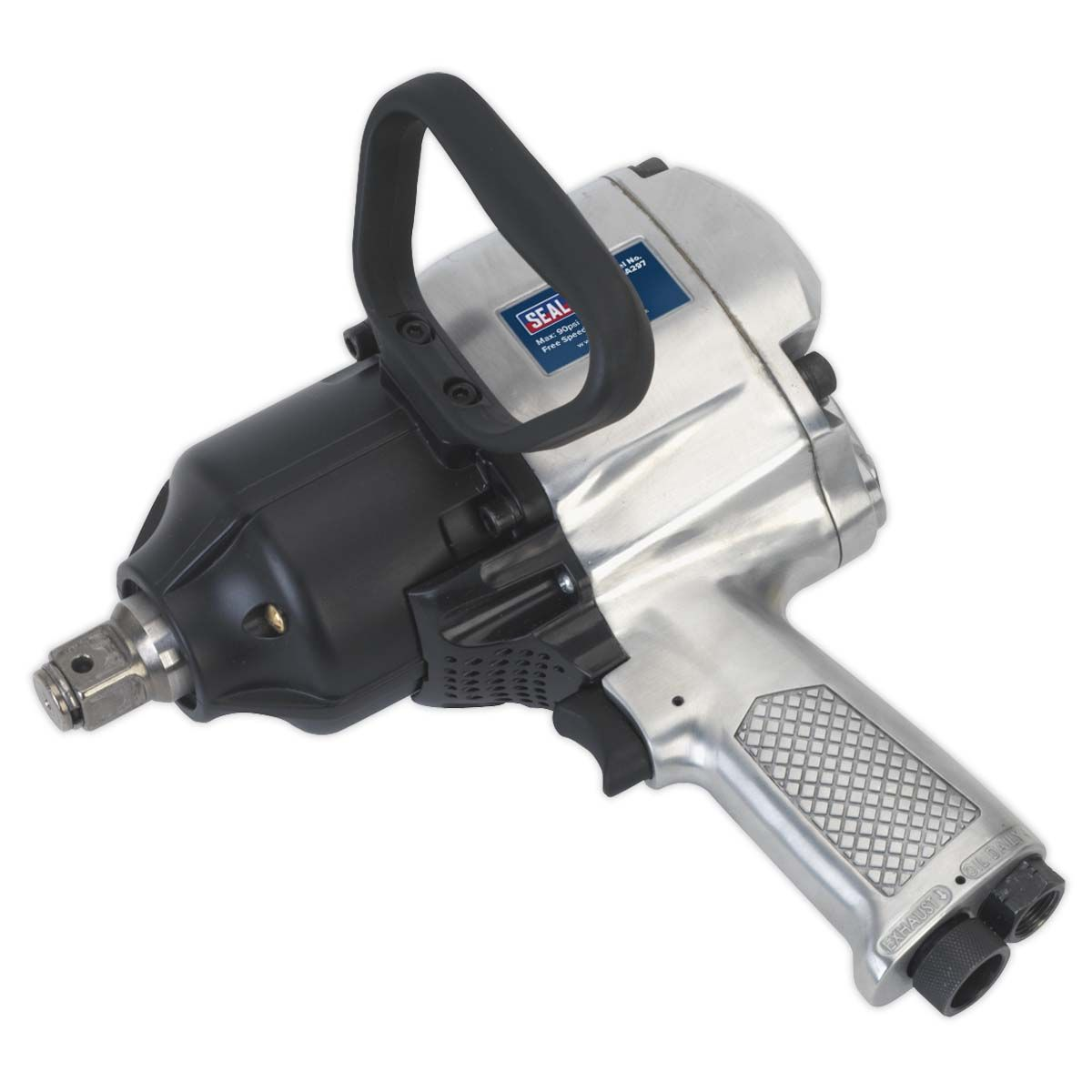 """Sealey Air Impact Wrench 1""""Sq Drive Pistol Type"""
