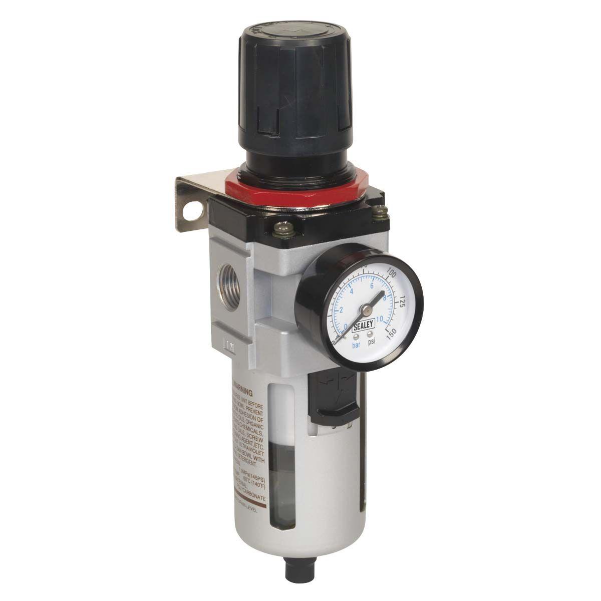 Sealey Air Filter/Regulator - High Flow