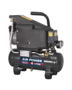 Sealey Compressor 6L Direct Drive 1hp