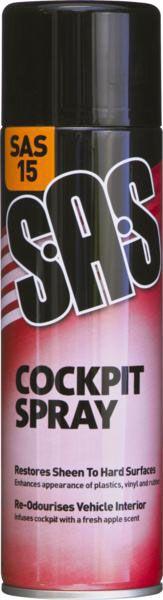 SAS Cockpit Spray 500ml