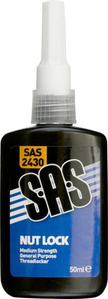 SAS Nut Lock Medium Strength 50ml