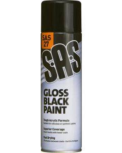 SAS Gloss Black Paint 500ml