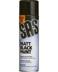 SAS Matt Black Paint 500ml