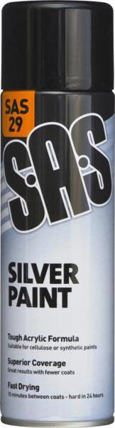 SAS Silver Paint 500ml