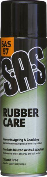 SAS Rubber Care Silicone Free 500ml
