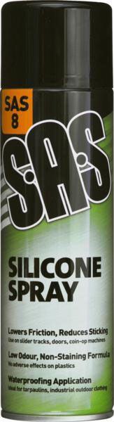 SAS Silicone Spray 500ml
