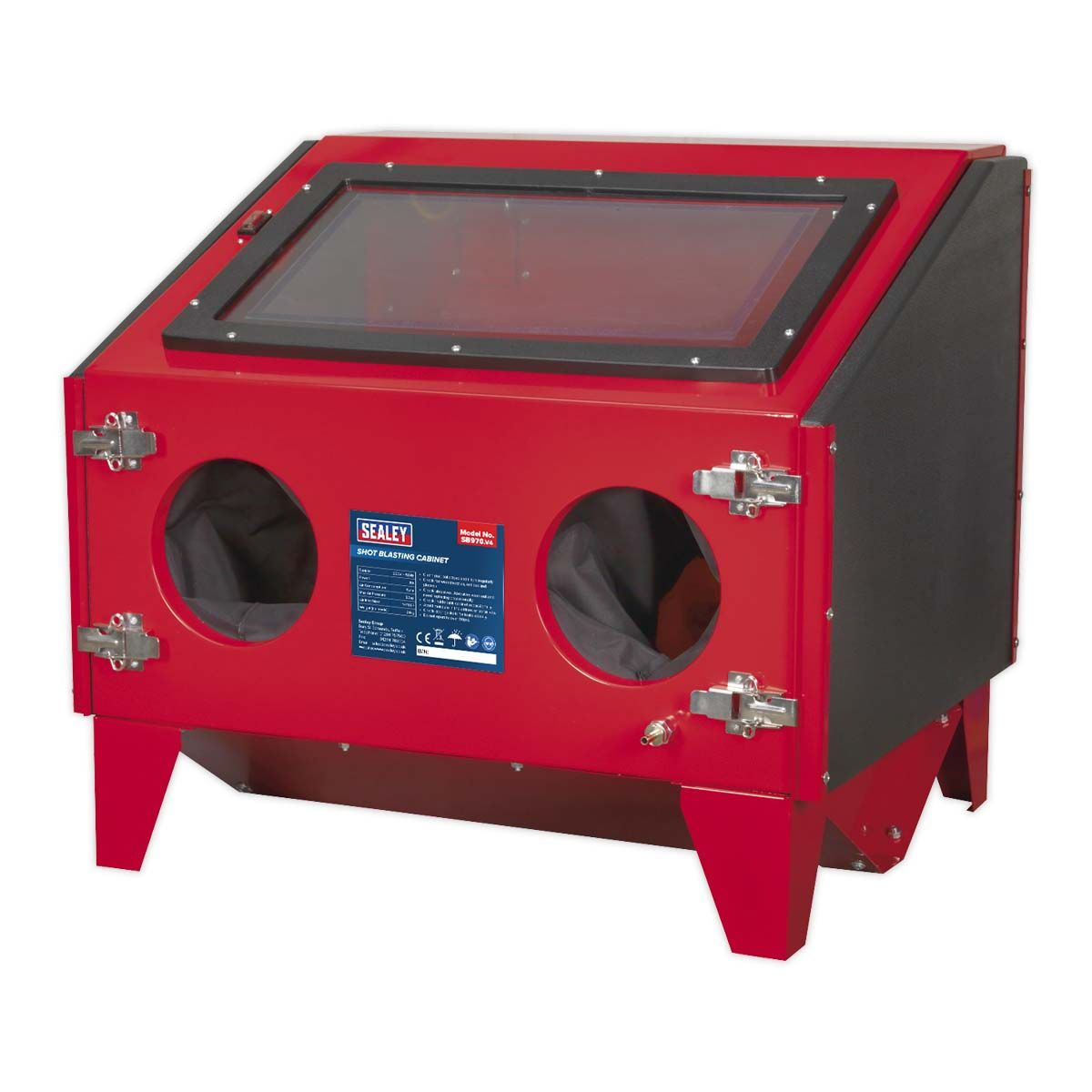 Sealey Shot Blasting Cabinet Double Access 695 x 580 x 625mm
