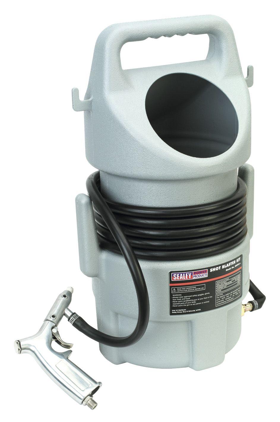 Sealey Shot Blasting Kit 22kg Capacity