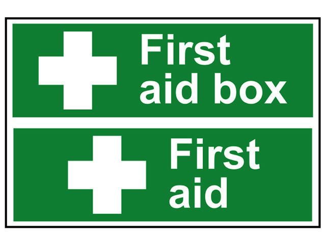 Scan First Aid Box / First Aid - PVC 300 x 200mm