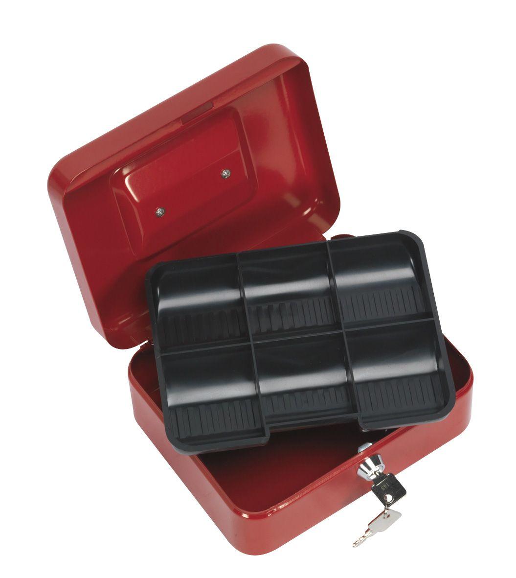 Sealey Key Lock Cash Box 200 x 160 x 90mm