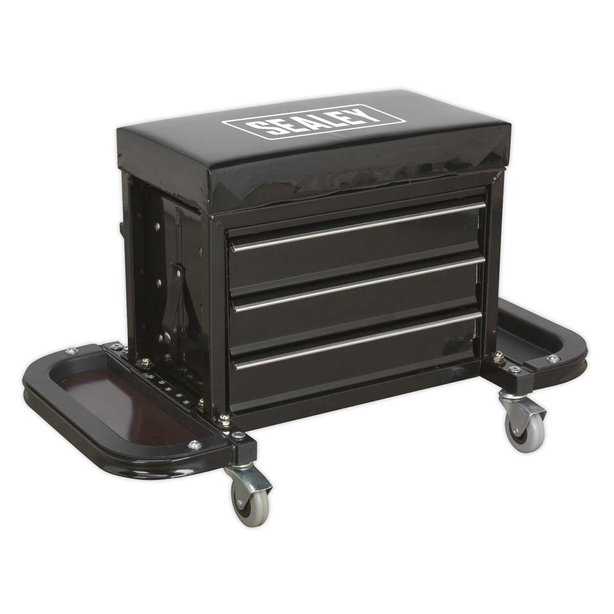 Sealey Mechanic's Utility Seat & Toolbox
