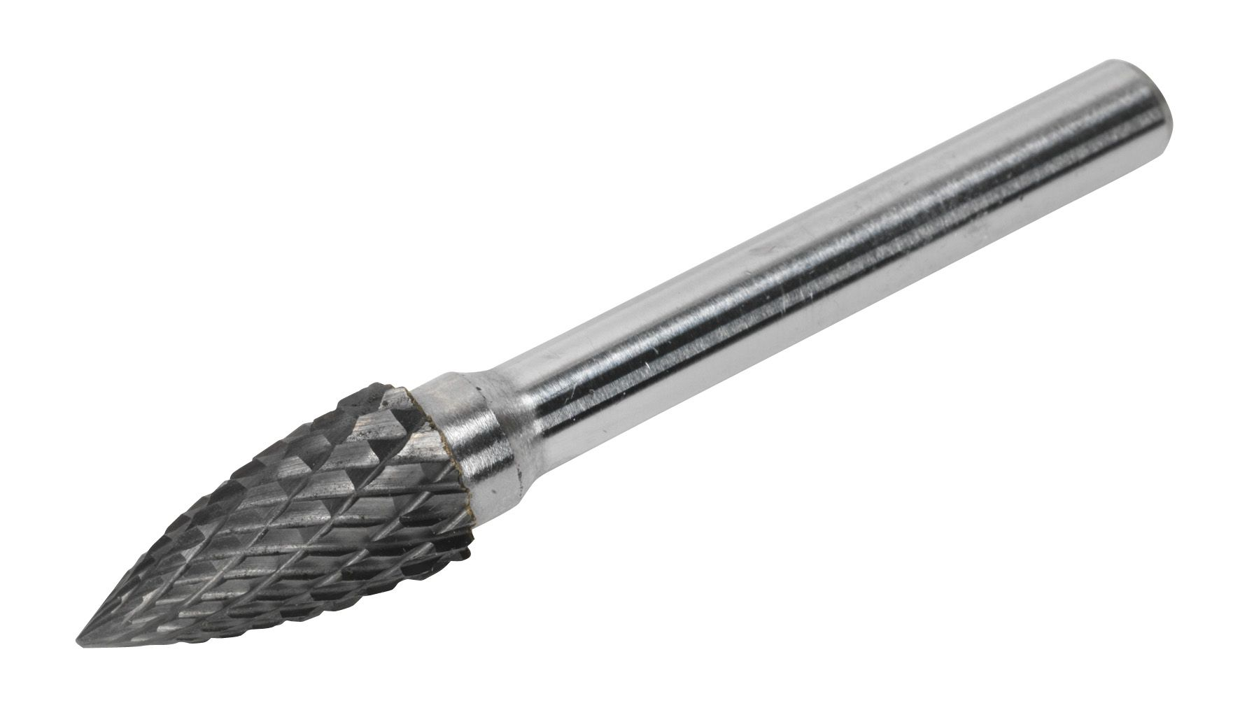 Sealey Tungsten Carbide Rotary Burr Arc Pointed Nose 10mm