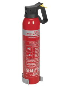 Sealey Fire Extinguisher 0.95kg Dry Powder - Disposable