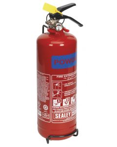 Sealey Fire Extinguisher 2kg Dry Powder