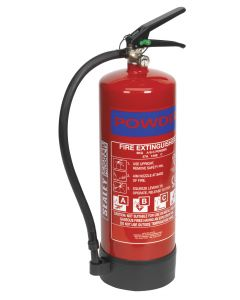 Sealey Fire Extinguisher 6kg Dry Powder