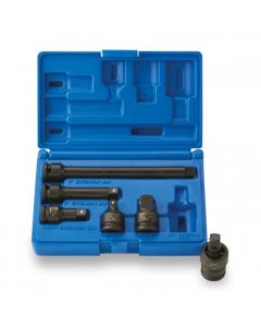 "ISS 3/8"" Accessory Socket Set - 6 Piece"