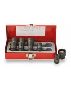 "ISS 3/8"" Metric Magnetic Socket Set - 9 Piece"