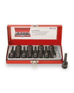 "ISS 1/2"" Metric Male Hex Socket Set - 9 Piece"