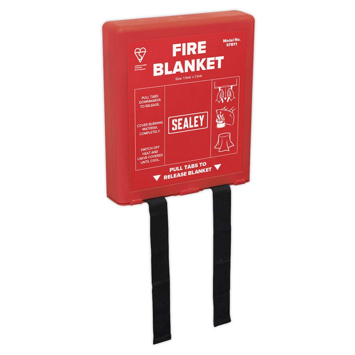 Sealey Fire Blanket 1.1 x 1.1m