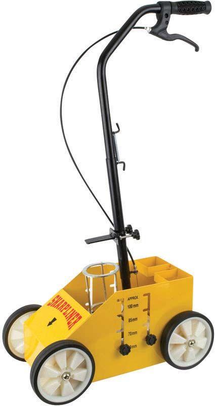 Prosolve Sharpliner Deluxe 4 Wheeled Linemarker Applicator Extra Can Storage
