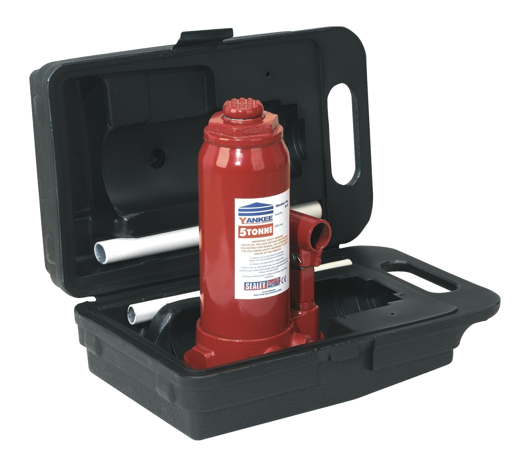 Sealey Hydraulic Bottle Jacks With Carry Case